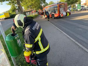 B1 - Feuer/Rauch Müllbehälter