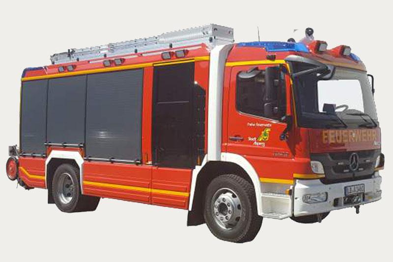Hilfeleistungslöschgruppenfahrzeug 1 (HLF 1)